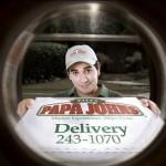 Kreative Werbung für PIZZA