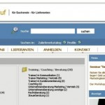 www.Marketingeinkauf.de im neuen Design
