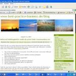 Wir stellen vor: Den Best-Practice Buiness Blog