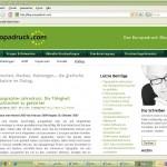 Wir stellen vor: den Blog von Europadruck.com
