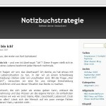 Interview mit dem Notizbuchstrategie Blog