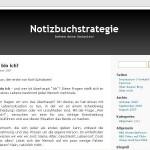 Interview mit dem Notizbuchstrategie Blog