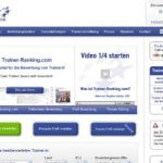 Neu: Trainer-Ranking.com – Bewertungen von Trainern im Internet