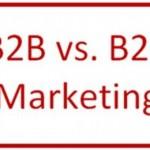Was unterscheidet B2B-Marketing von B2C-Marketing?