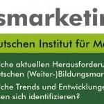 Studie Bildungsmarketing 2013 gestartet!