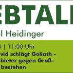 Webtalk: Local SEO: David schlägt Goliath – Wie lokale Anbieter gegen Großunternehmen bestehen