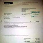 Vorsicht bei der Rechnung von PRESSRELEASE- Betrugsversuch