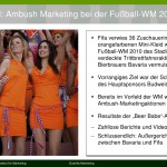 Ambush Marketing während der FIFA-WM 2014