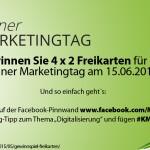Gewinnspiel: Gewinnen Sie 4 x 2 Freikarten für den Kölner Marketingtag!