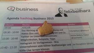 Ablauf hashtag.business