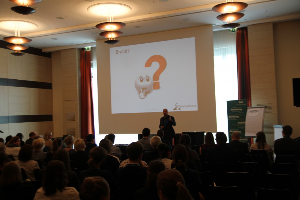 Felix Beilharz auf dem Kölner Marketingtag 2015