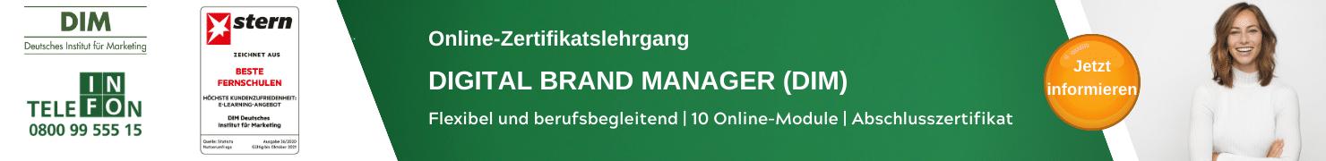 Digital Brand Manager DIM