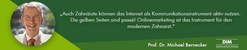 Online Marketing Zahnarzt