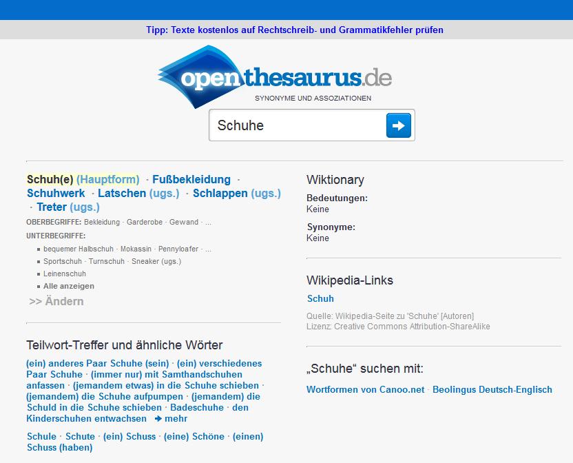 Keyword Recherche Thesaurus