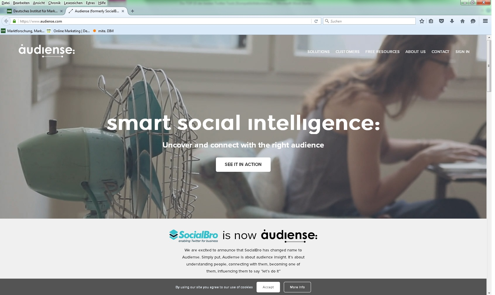 Audiense Twitter Tools