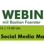 Webinaraufzeichnung: Studie Social Media Marketing 2016