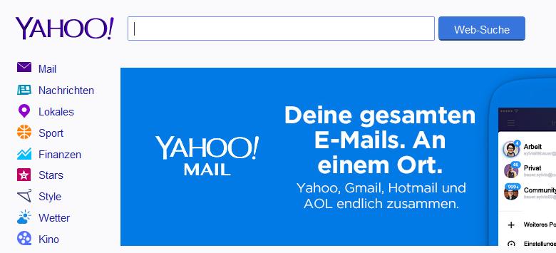Yahoo - Suchmaschinenoptimierung