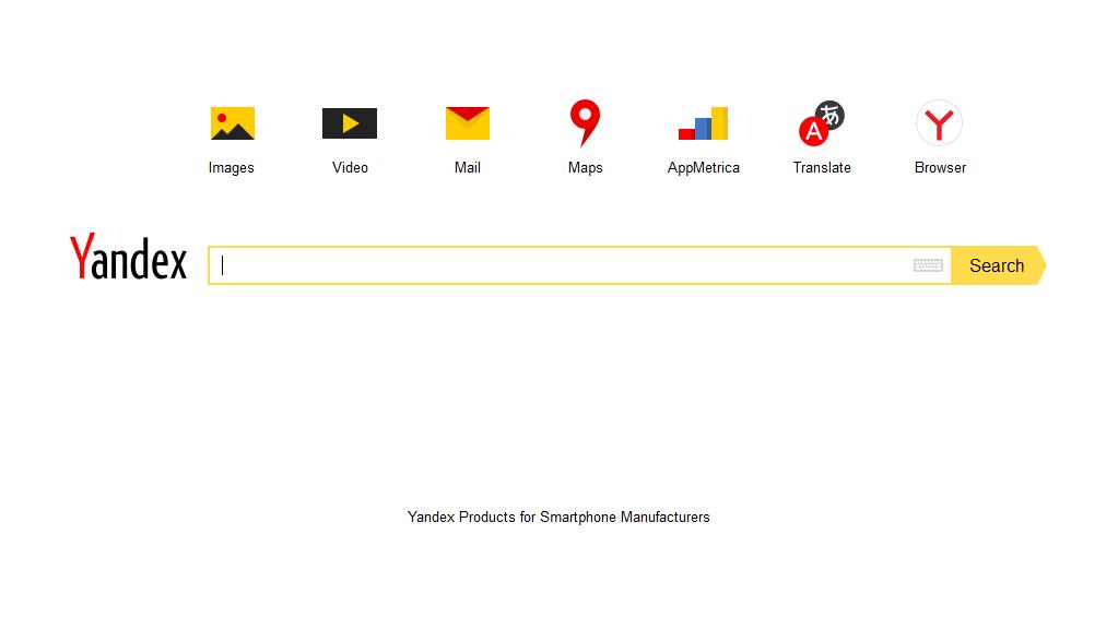 Yandex - Suchmaschinenoptimierung