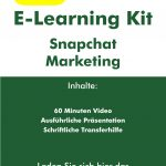 "E-Learning Kit ""Snapchat Marketing"""