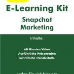 "E-Learning Kit ""Snapchat Marketing"""