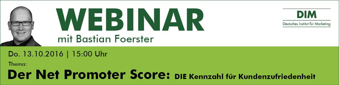 Webinar - Der Net Promoter Score