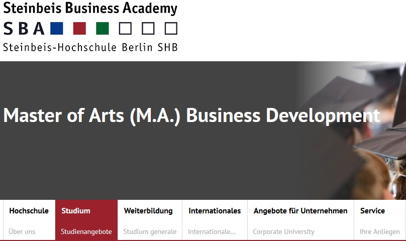 Business Development studieren