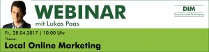 Webinar Local Online Marketing