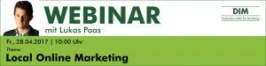 Webinar Local Online Marketing