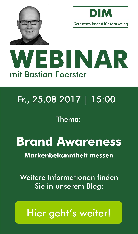 Brand Awareness Webinar