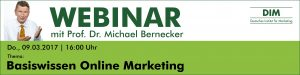 Webinar Basiswissen Online Marketing
