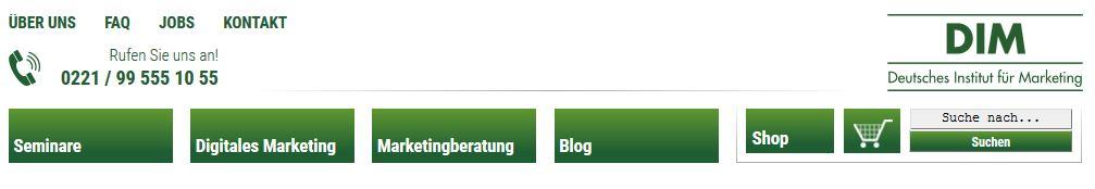 Internetseite erstellen: Kontakt