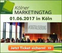 Kölner Marketingtag 2017 - 01.06.2017