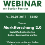 "E-Learning Kit ""Marktforschung 2.0 – Social Media Monitoring, Online-Communities und Co."""