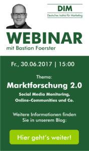 Webinar Marktforschung 2.0