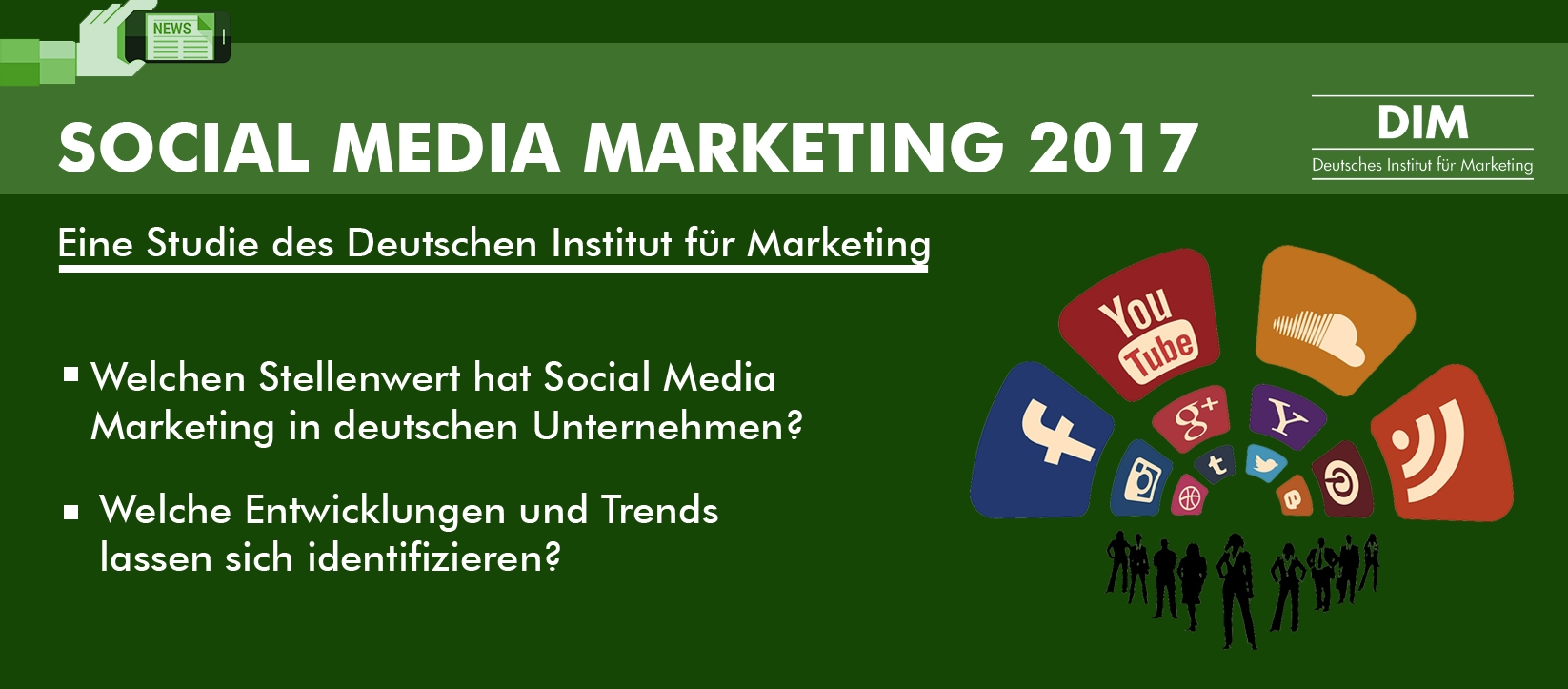 Social Media Marketing Studie 2017