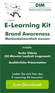 "E-Laerning Kit ""Brand Awareness - Markenbekanntheit messen"""