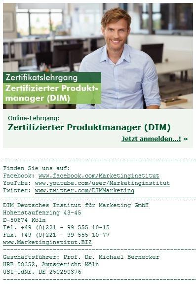 DIM E-Mailsignatur