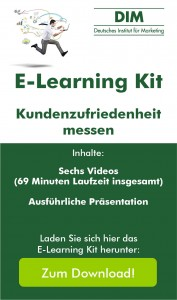 "E-Learning Kit ""Kundenzufriedenheit messen"""