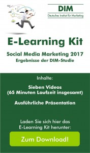 "E-Learning Kit ""Social Media Marketing 2017"""