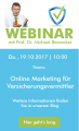 "Live-Webinar ""Online Marketing für Versicherungsvermittler"""