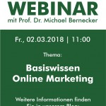 "Live-Webinar ""Basiswissen Online Marketing"" am 02. März"