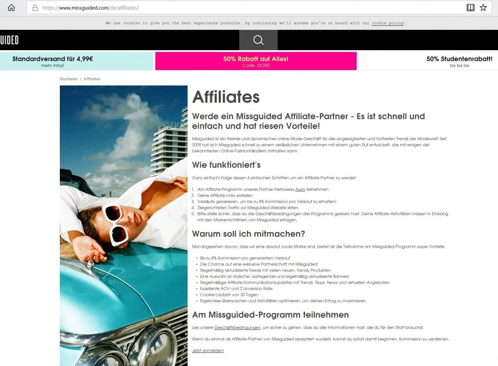 Affiliate Marketing Partner anwerben