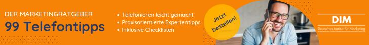 Marketingratgeber - 99 Telefontipps
