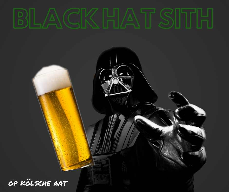 Black Hat Sith vs. White Hat Jedi