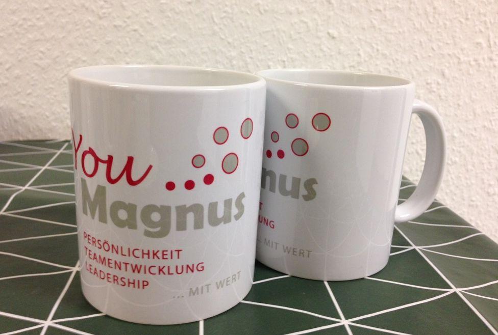 YouMagnus Werbetasse