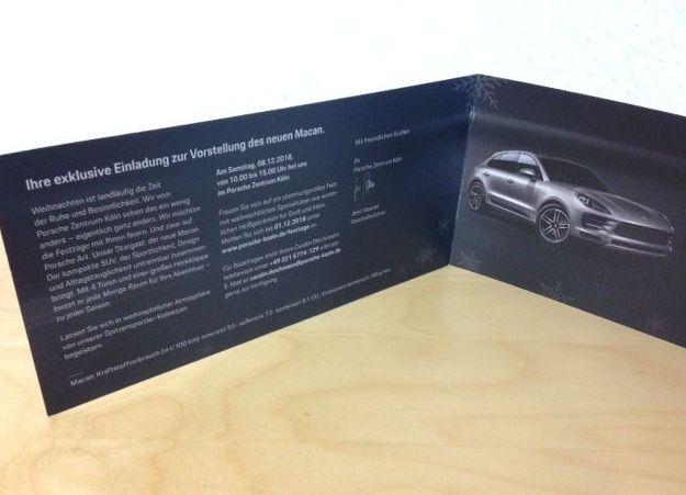 Autohaus Marketing Einladung