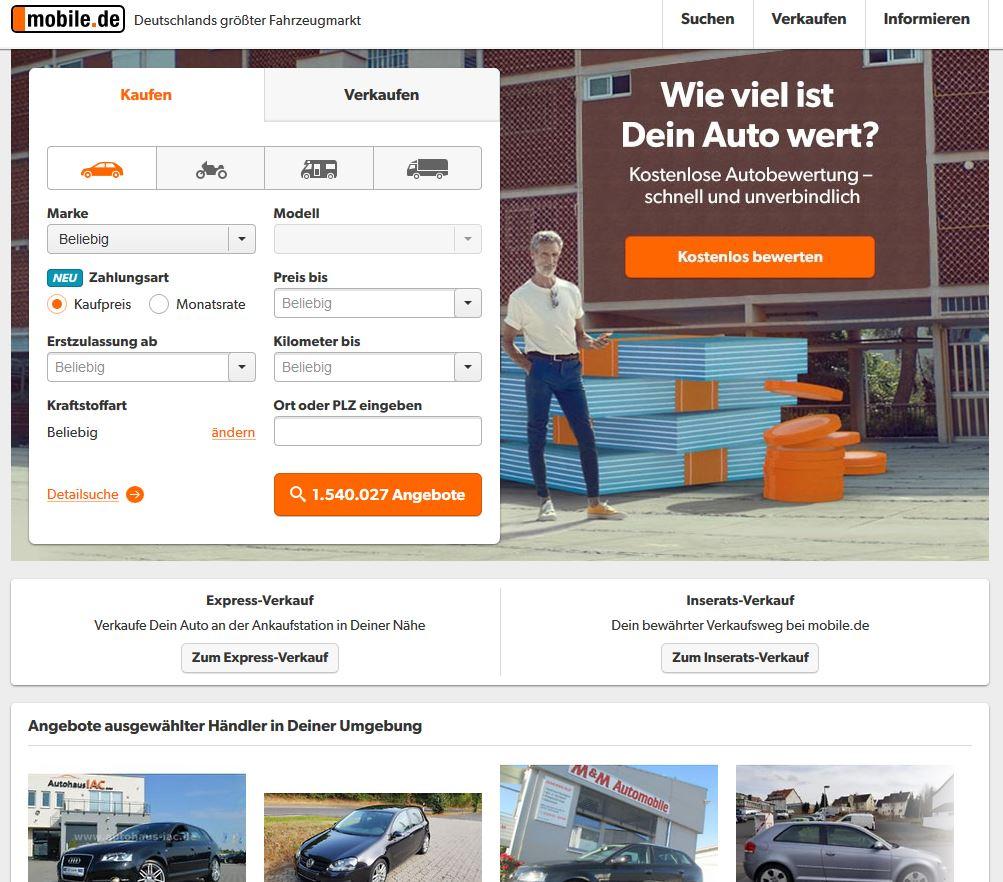 Portal mobile.de