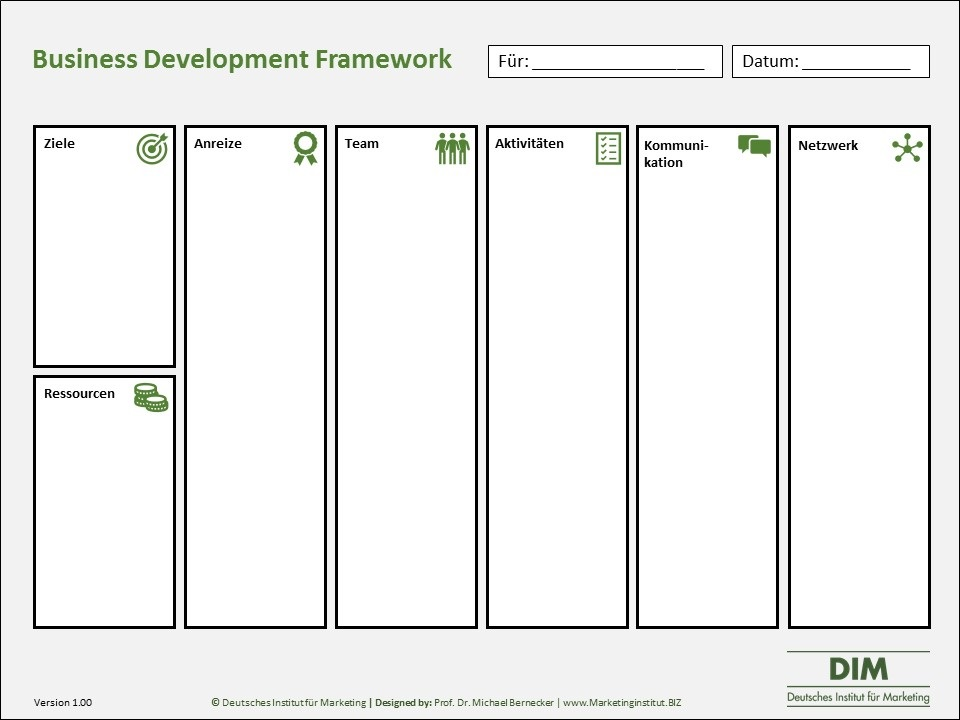Business Development Framework