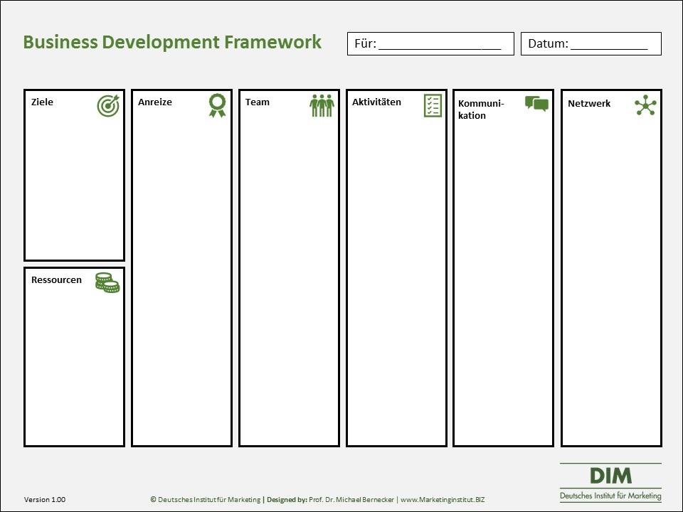 Business Development Framework