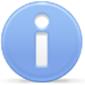 Großer Info-Button
